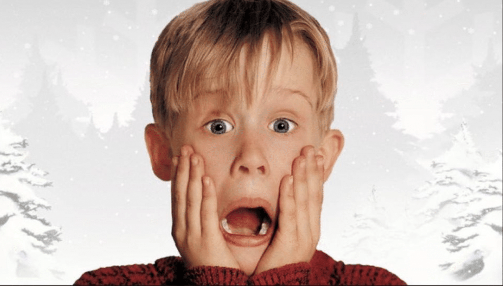 Macaulay Culkin home alone